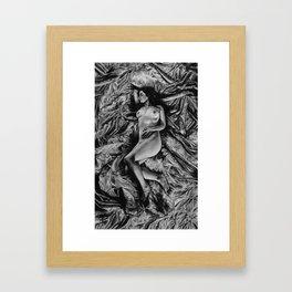 Purity and Petrified Framed Art Print