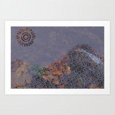 Mountain Series - Evening Art Print