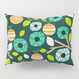 Oranges and flowers Pillow Sham