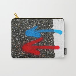 Road Marking Markings Carry-All Pouch