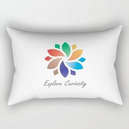 Explore Curiosity Mandala Rectangular Pillow