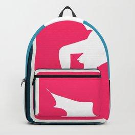 Winged Demon Sports Logo Design Backpack