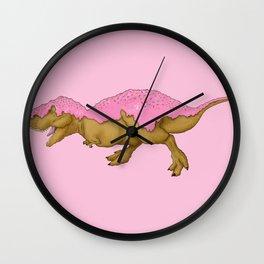 Donutsaurus Rex Wall Clock