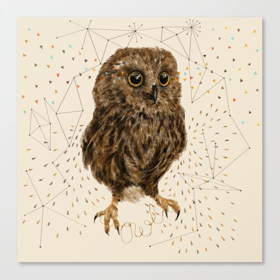 Mr.Owl IV Canvas Print