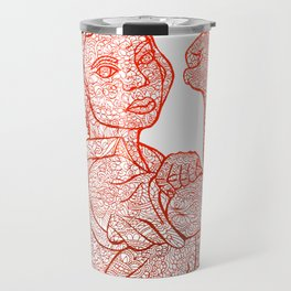 Riveter -red Travel Mug