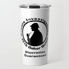 Sherlock Holmes Discretion Guaranteed Travel Mug