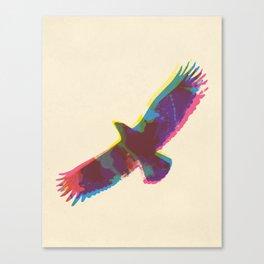 Eagle Paint Print Canvas Print