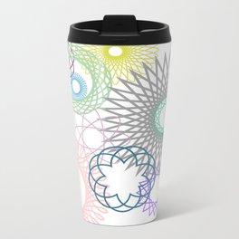 spirograph Metal Travel Mug
