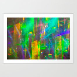 Prisms Play of Light 4 Art Print