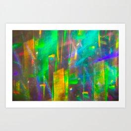 Prisms Play of Light 4 Art Print