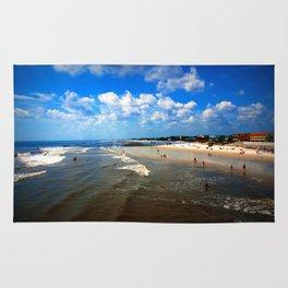 Folly Beach in Charleston SC Rug