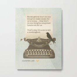 To Kill a Mockingbird Metal Print