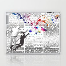 Nature's comeback graffiti Laptop & iPad Skin