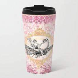 Vintage Fairy Queen Metal Travel Mug