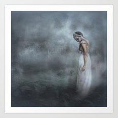 A Siren of Silence Art Print