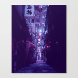 Tokyo Nights / One More Light / Liam Wong Canvas Print
