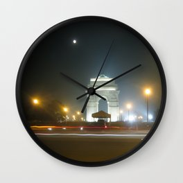 Rush Hour - India Gate Wall Clock