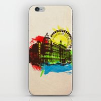 chicago iPhone & iPod Skins featuring Chicago by Badamg