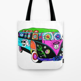 FUNKY TOWN BOUND Tote Bag