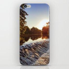 River weir iPhone Skin