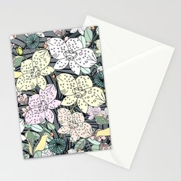Orchids in Bloom Stationery Cards