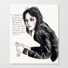 Joan jett  Canvas Print