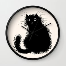 Moggy Wall Clock