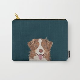 Hollis - Australian Shepherd gifts for dog owners pet lovers dog people gifts for dog person Carry-All Pouch