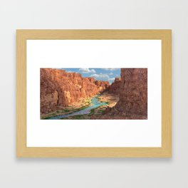 Gran Canyon Landscape Framed Art Print