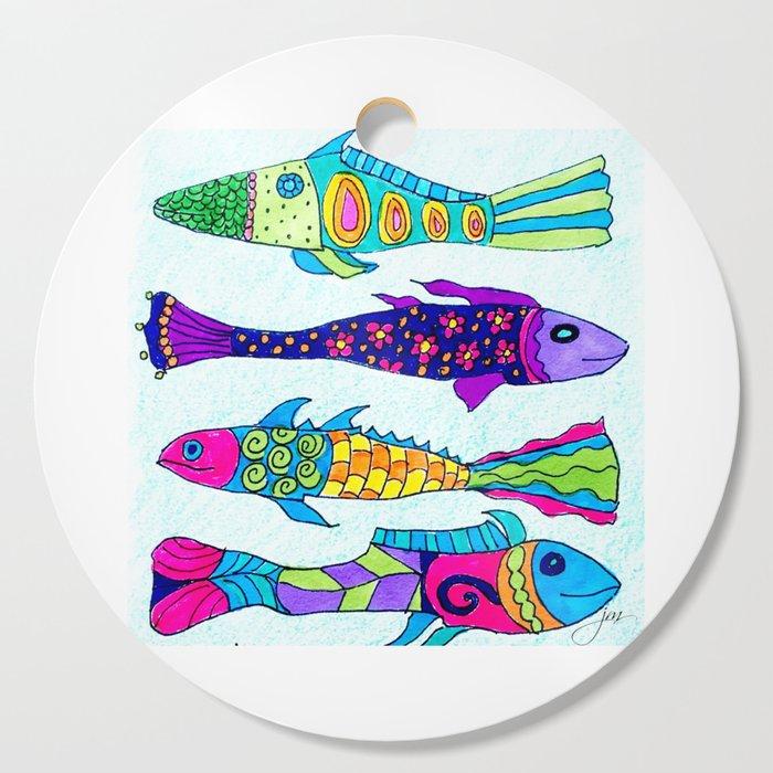 Aquarium Cutting Board