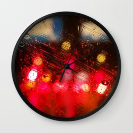 Rainy DayZ 38 Wall Clock