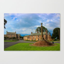 Graystoke village in Lakes District, UK Canvas Print