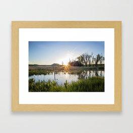 Abandoned: South Dakota 6651 Framed Art Print