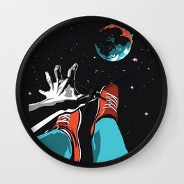 The Point of No Return Climate Change Art Print Wall Clock