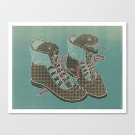 Moray Heels Canvas Print