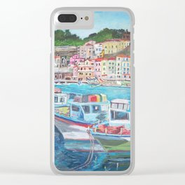 Porto di Sorrent Clear iPhone Case