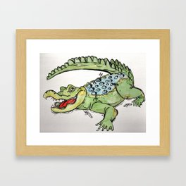 All-I-Grator Framed Art Print