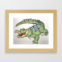 All-I-Grator Framed Art Print