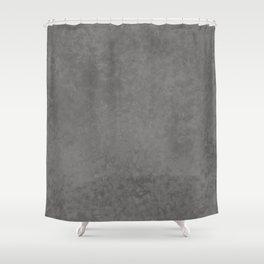 Pantone Pewter, Liquid Hues, Abstract Fluid Art Design Shower Curtain