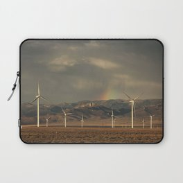 Wind Farm in Nevada Laptop Sleeve