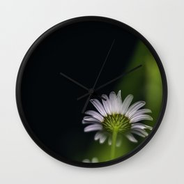 Flowers by night Wall Clock