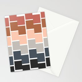 Modern Paint Chip Stationery Cards