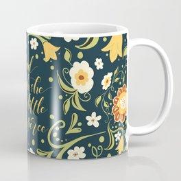 And though she be but little she is fierce (FFP1b) Coffee Mug
