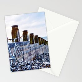 Bicycle on the Shoreline (Color) Stationery Cards
