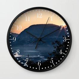 Barrea lake, Abruzzo National Park, Italy Wall Clock