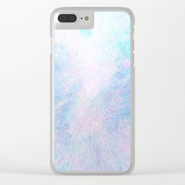 Snow Motion Clear iPhone Case