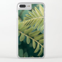 Layers Of Green #1 Clear iPhone Case