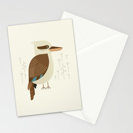 Laughing Kookaburra, Bird of Australia Stationery Cards