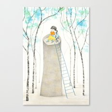 A different Rapunzel Canvas Print