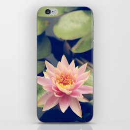 TRANQUIL POND WATERLILLY iPhone Skin
